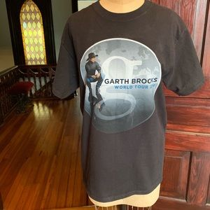 Garth Brooks Concert Tour T-Shirt Med EUC
